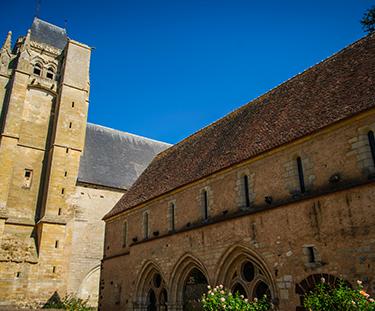 Abbaye de Massay - AD2T