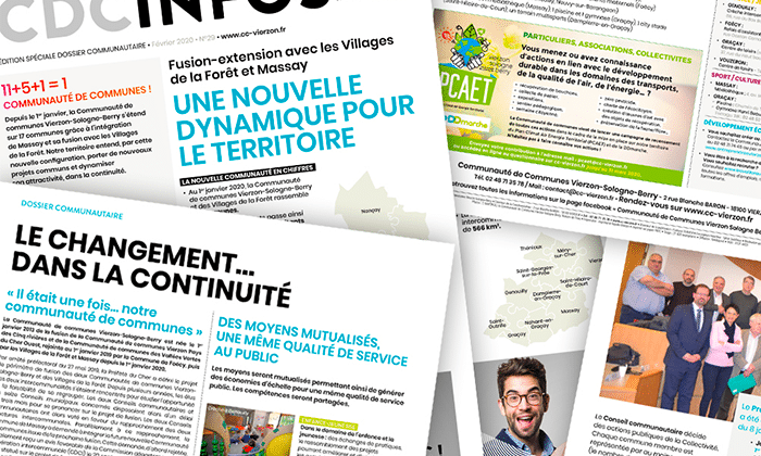 Publication : CDC INFOS N°29 EDITION SPECIALE DOSSIER COMMUNAUTAIRE
